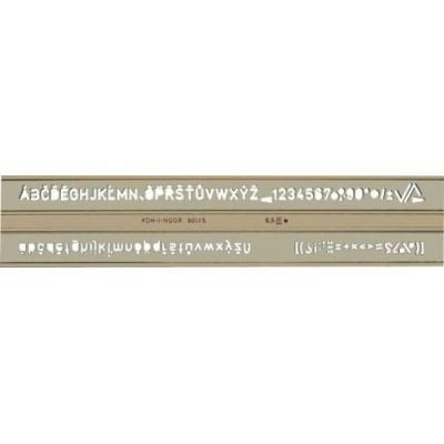 Koh-I-Noor betűsablon 5,0mm