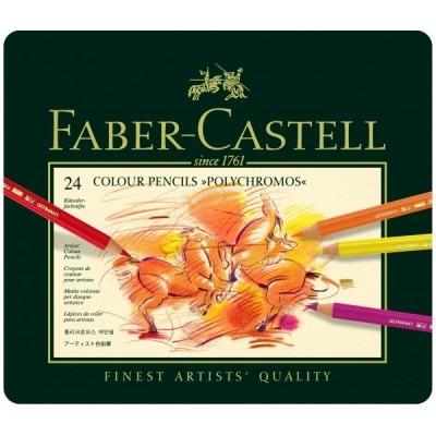 Faber-Castell Polychromos 24db-os színesceruza készlet