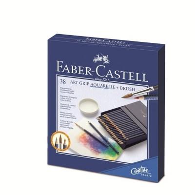 Faber-Castell Art Grip Studio Box akvarell 38db-os
