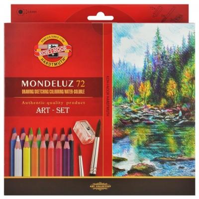 Koh-I-Noor Mondeluz 72db-os akvarell ceruzakészlet