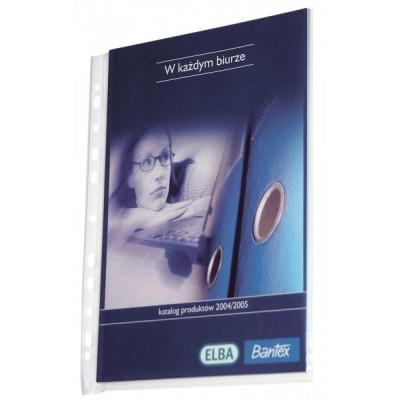 Bantex Maxi A4 lefűzhető tasak 50db/csom.