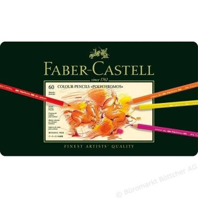 Faber-Castell Polychromos 60db-os színesceruza készlet