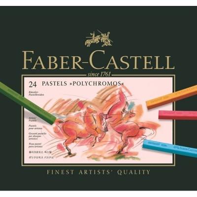 Faber-Castell Polychromos pastell kréta 24db-os