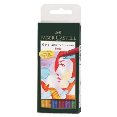 Faber-Castell PITT Art Basic ecsetfilc 6db