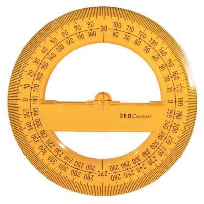 Aristo 360°-os szögmérő, 12cm