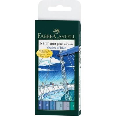 Faber-Castell PITT Artist B ecsetfilc 6db