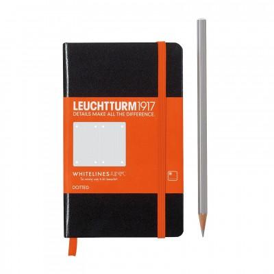 LEUCHTTURM1917 Pocket A6 Whitelines Link -pontozott