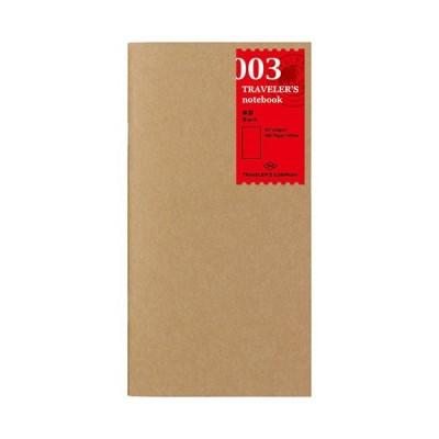 MIDORI Traveller's Notebook refill Sima vékony lapok