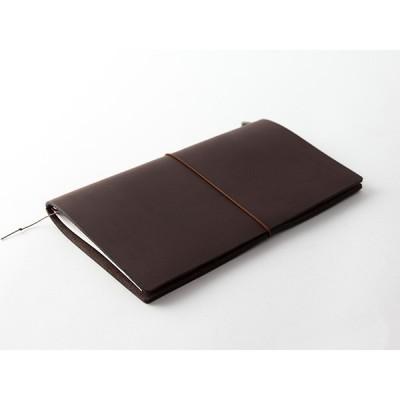 MIDORI Traveller's Notebook - Fekete bőr borító