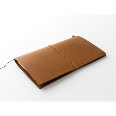 MIDORI Traveller's Notebook - Barna bőr borító
