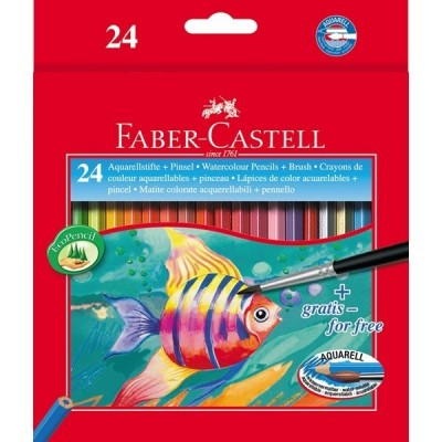 Faber-Castell akvarell 24db-os
