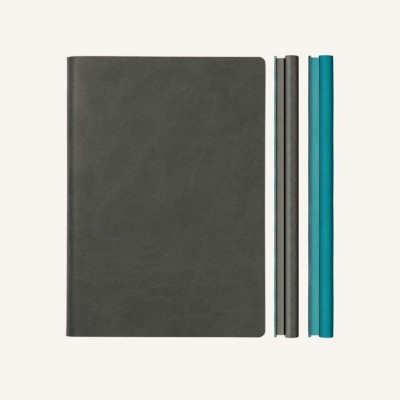 DayCraft Executive Diary Notebook A/5 dark blue