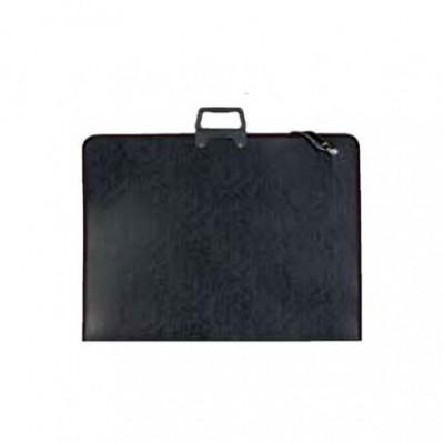 Leniar portfólió hordtáska 55x38cm, fekete
