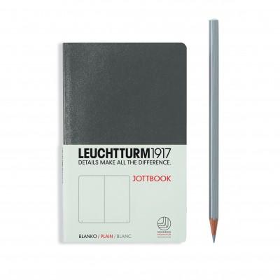 LEUCHTTURM1917 Pocket A6 JOTTBOOK, sima lapokkal