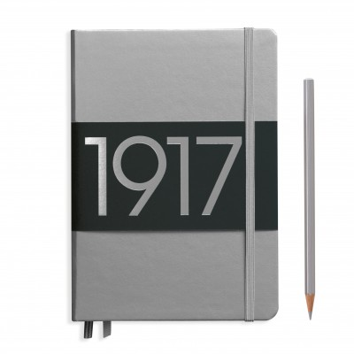 LEUCHTTURM1917 Metallic Medium A5 pontozott lapos NOTEBOOK