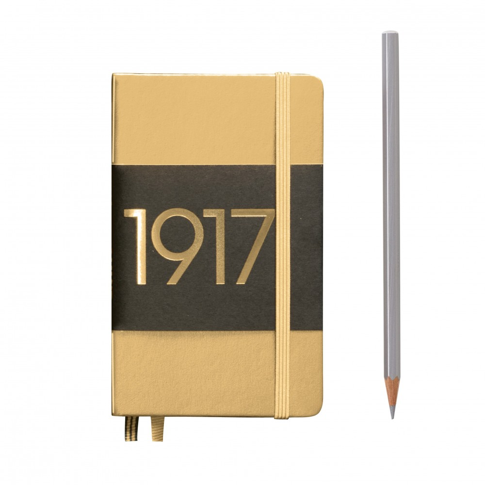 LEUCHTTURM1917 Metallic Pocket A6  sima lapos NOTEBOOK