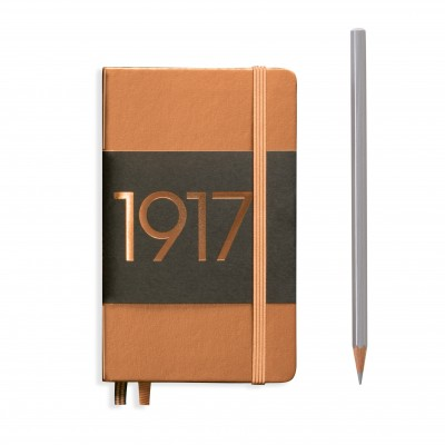 LEUCHTTURM1917 Metallic Pocket A6 vonalas NOTEBOOK