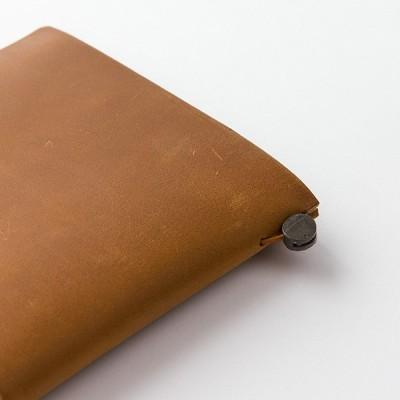 MIDORI Traveller's Notebook Passport Size - Camel bőr borító
