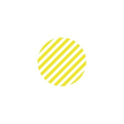 MT (washi) CASA SEAL dot, stripe lemon