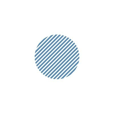 MT (washi) CASA SEAL dot, stripe blue