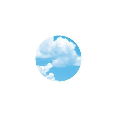 MT (washi) CASA SEAL blue sky round 50mm, 10 db