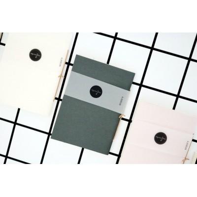 MALINOVKA Notebook M vászon borítású