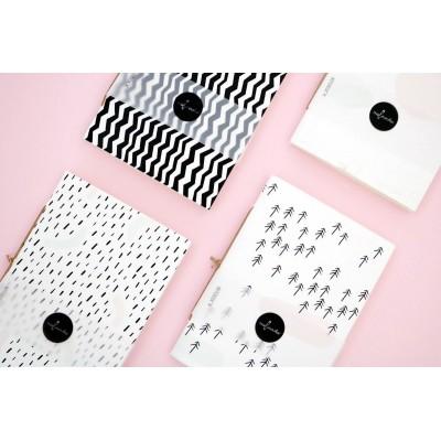 MALINOVKA Notebook M papír borítású