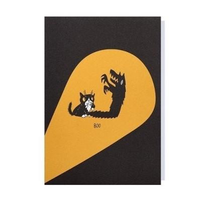 Papette üdvözlő kártya