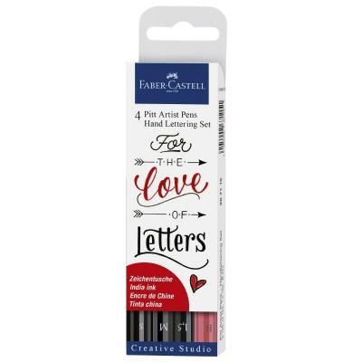 Faber-Castell Pitt Artist Pen Handlettering 4db