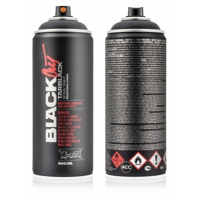 Montana Blackout Tarblack Graffiti Spray 400ml