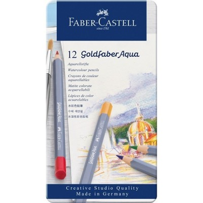 Faber-Castell Goldfaber akvarell 12db-os