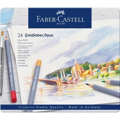 Faber-Castell Goldfaber akvarell 24db-os