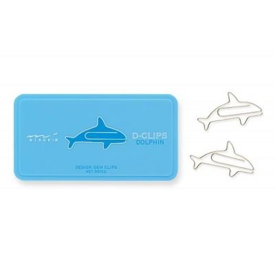 MIDORI D-Clips gémkapocs, delfin