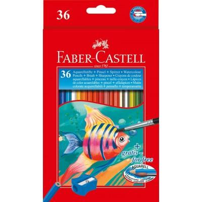 Faber-Castell akvarell szinesceruza 36db-os