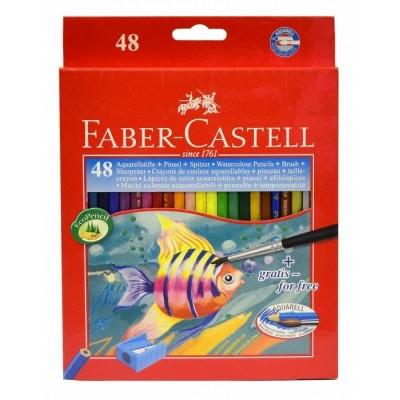 Faber-Castell akvarell szinesceruza 48db-os