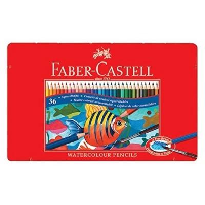 Faber-Castell akvarell szinesceruza 36db-os fém dobozban