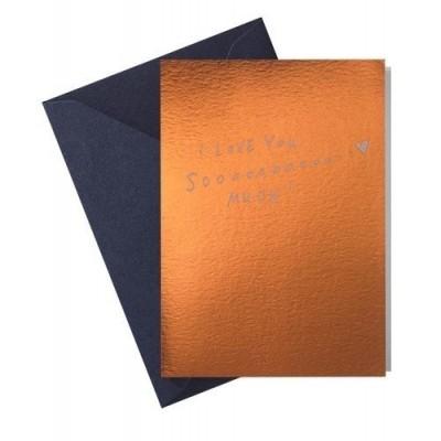 Papette Hot copper  üdvözlő kártya