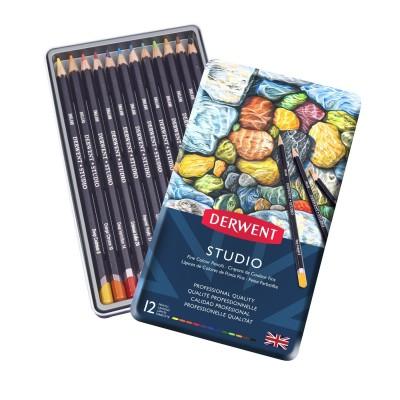 Derwent Academy 12db-os színes ceruza készlet