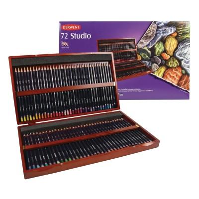 Derwent Artist 120db-os színesceruza készlet fadobozban