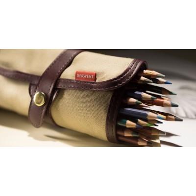 Derwent ceruzatartó textilből 30+1