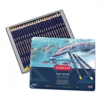 Derwent Inktense 12db-os színes ceruza készlet