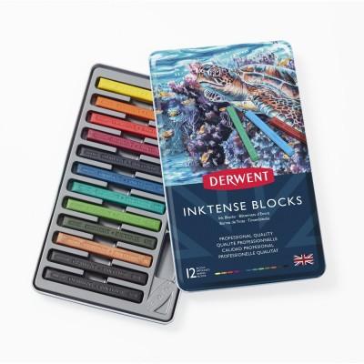 Derwent Inktense 12db-os tinta kréta készlet