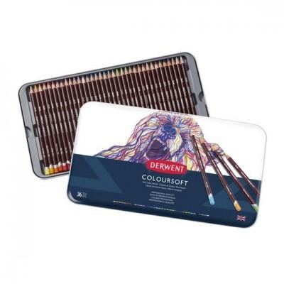 Derwent Coloursoft 24db-os színes ceruza készlet