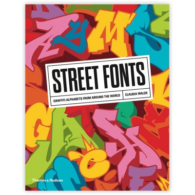 Street Book colouring book