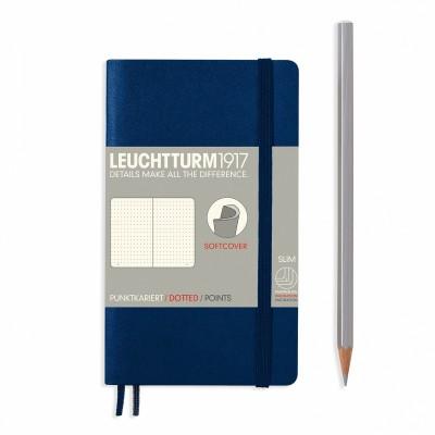 LEUCHTTURM1917 Pocket A6 pontozott lapos SOFTCOVER