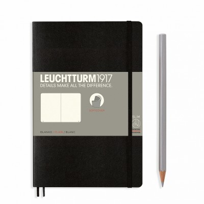 LEUCHTTURM1917 Paperback B6 sima lapos SOFTCOVER
