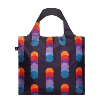 LOQI bevásárló táska, Geometric - Circles