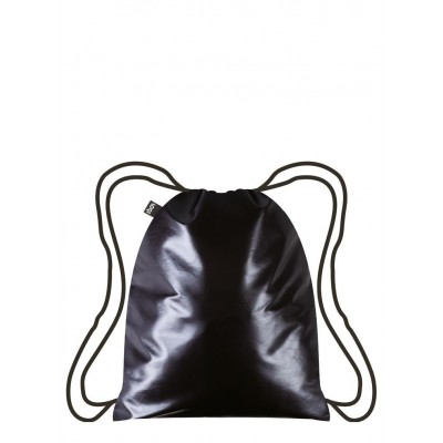 LOQI hátizsák (gym bag), Metallic – Pearl