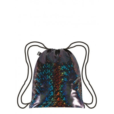 LOQI hátizsák (gym bag), Metallic – Prism