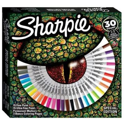 Sharpie Peacock, limitált kiadású alkoholos marker 28db-os készlet